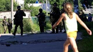 Ukraine: 5000 Tonnen Hilfsgüter blockiert