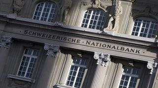 Nationalbank mit 30 Milliarden Franken Verlust