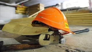 Unia feiert Frühpensionierung auf dem Bau