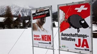 Initiativen versus Völkerrecht: Bundesrat blitzt ab