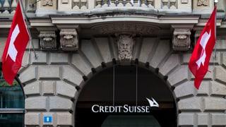 Wegen der CS zittern Dutzende anderer Schweizer Banken