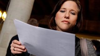 Lobbyistin entschuldigt sich bei Markwalder
