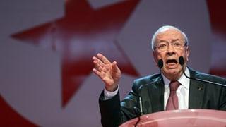 Essebsi gewinnt die Präsidentenwahl in Tunesien deutlich
