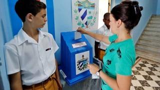 Kubaner stimmen neuer Verfassung zu
