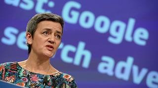 EU verhängt weitere Milliardenbusse gegen Google