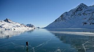 Tuttina betg carte blanche per ir cun patins sin il Lago Bianco