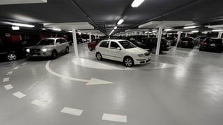 Acht Jahre lang im Parkhaus – 27'900 Euro
