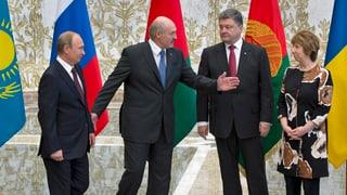 Poroschenko trifft Putin – und doch gibt's kaum Hoffnung