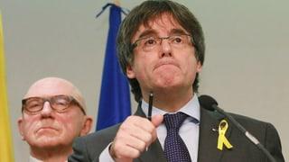 Puigdemont bleibt in Brüssel