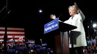 Clinton und Trump marschieren Richtung Kandidatur
