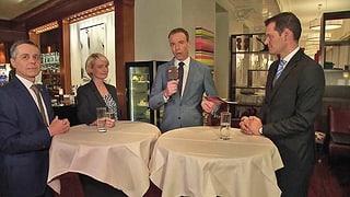 Die drei Bundesratskandidaten im Gespräch