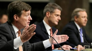 CS-Hearing im US-Senat: Mehr Polit-Show statt Aufklärung
