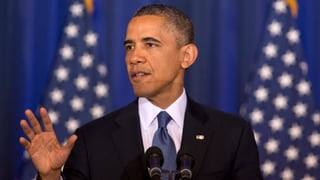 Obama will den «Krieg gegen den Terror» beenden