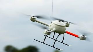 St. Galler Kantonspolizei nutzt schon eine Mini-Drohne