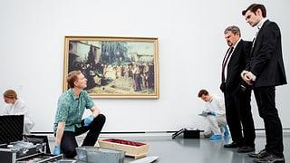 Luc Conrad und das rätselhafte Anker-Bild