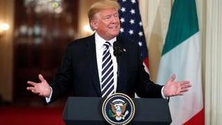 Trump signalisiert Gesprächsbereitschaft mit Iran