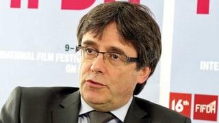 Der katalanische Separatistenchef Carles Puigdemont spricht im SRF-Interview über Demokratie und gebrochene Versprechen.