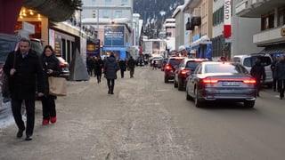 Wie die Gemeinde Davos versucht, den WEF-Verkehr zu managen (Artikel enthält Audio)