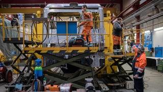 SBB-Industriewerk bleibt in der Region Bellinzona
