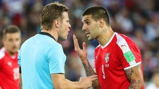 Serben deponieren Protestbrief bei der Fifa