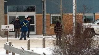 Schiesserei an kanadischer Schule