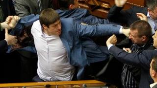 In der Ukraine liegen die Nerven blank