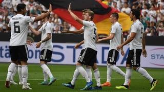 Zittersieg für Deutschland im letzten WM-Test