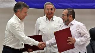 Farc und Kolumbien beenden ihren Krieg