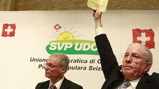 SVP sagt Nein zur Abzocker-Initiative