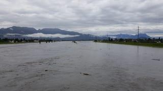 Bodensee tritt bald über die Ufer