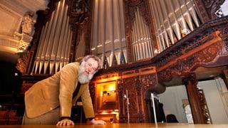 Eine beeindruckende Orgel, auf der viel Volksmusik gespielt wird