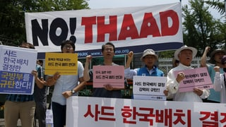Raketenabwehrsystem: Dicke Luft auf koreanischer Halbinsel
