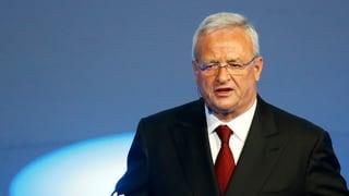 «Dieselgate»: Ermittlungen gegen Ex-Volkswagen-Chef Winterkorn
