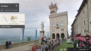 Street-View-Sightseeing: Oh wie schön ist San Marino!
