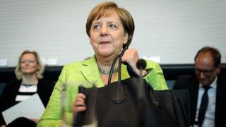 Deutsche Kanzlerin Merkel gibt Abstimmung über Ehe für alle frei