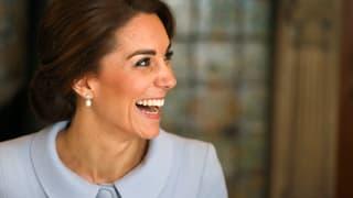 Zum ersten Mal solo: Herzogin Kate in Holland