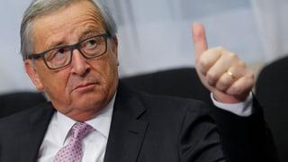 «Juncker ist für die Schweiz ein harter Brocken»