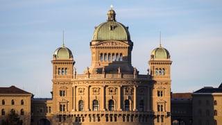 Tagesschau-Wahlserie Abrechnung im Bundeshaus