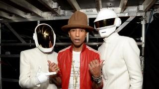 Exklusiv: Pharrell und Daft Punk mit neuem Song!