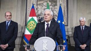 Italien soll eine Technokraten-Regierung erhalten