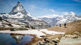 Ausländer entdecken die Schweiz wieder