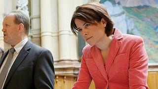 FDP-Präsidentschaftskandidatin Petra Gössi unter der Lupe