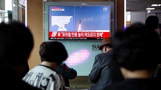 «Fast sofort explodiert»: Raketentest Nordkoreas scheitert