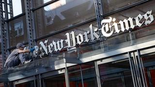«‹NYTimes› ist Bindeglied zwischen Behörden und anderen Medien»