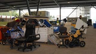 Recyclinghöfe haben Angst vor Klagen (Artikel enthält Audio)