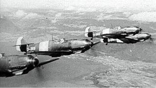 Luftkampf über der Schweiz (Artikel enthält Video)