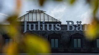 US-Steuerstreit: Julius Bär wappnet sich für hohe Busse