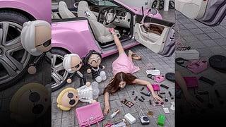 Für Likes stürcheln Chinesen aus dem Auto