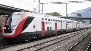 Einige SBB-Doppelstockzüge fahren zu wenig stabil