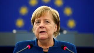 Merkel spricht sich für europäische Armee aus
